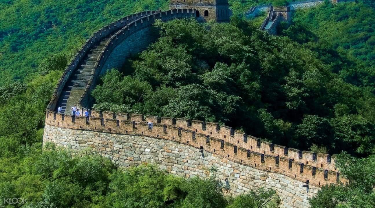 mutianyu great wall landscape
